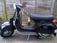 LML Star Black 125 Scooter