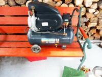 SEALEY 2HP COMPRESSOR WITH 24 LTR TANK