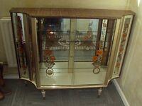 retro \ vintage display cabinet