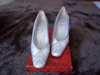 Ladies' Renata Silver Occasion Shoes