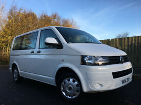 2014 Vw T5 Transporter Shuttle 2.0 TDi 8 Seater NO VAT