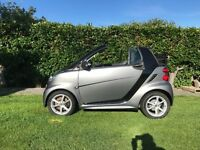 Smart Car Convertible low miles, 12 months Mot, FSH