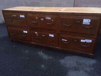 Old haberdashery drawers