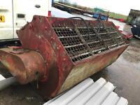 Hydraulic pan concrete mixer jcb / manitou