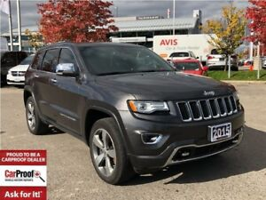 2015 Jeep Grand Cherokee OVERLAND**ADAPTIVE CRUISE CONTROL**TOW