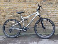 Land Rover Defender dsx 150 mens full sus mountain bike