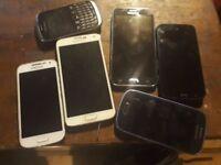 various phones spares or repairs