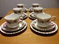 Beautiful Royal Stafford Vintage China Tea Set