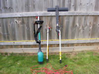 Bosch hedge trimmer - high reach, with extension