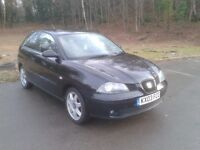 Seat Ibiza 1.4 SE Sport, Full Service History, Lady owner for last 6 Years