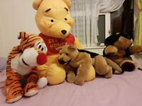 Four Large Children's Teddies
