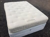 Luxury Vi Spring Traditional Double Bedstead Mattress Excellent Condition free delivery in norwich
