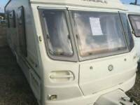Avondale eagle 2003 fixed bed touring caravan