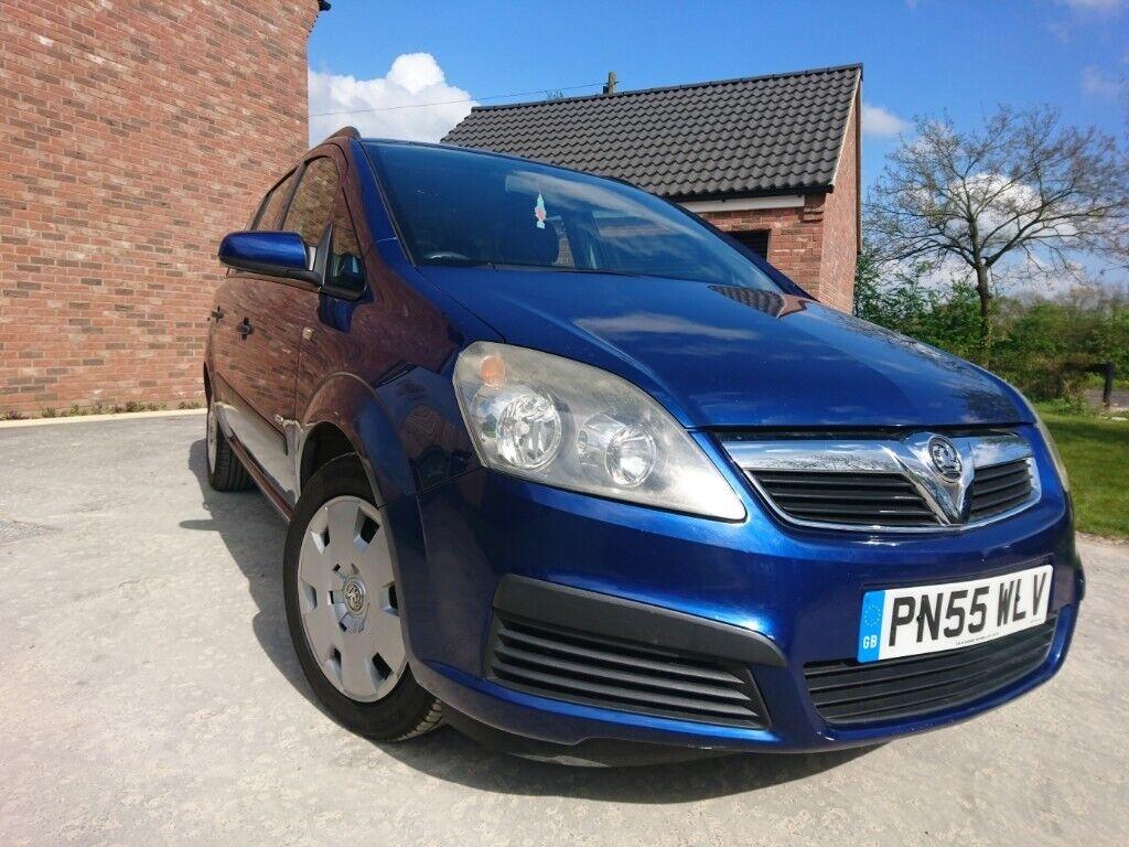 2005 Vauxhall Zafira 1 6 petrol *MPV 7 seater* LOW miles**MOT Nov**like:  scenic, galaxy, picasso | in Mattishall, Norfolk | Gumtree
