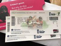 Cricket T20 England v Australia tickets 27/6/18