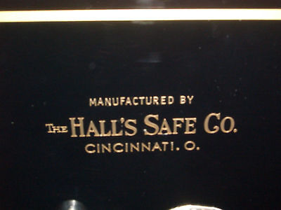 """Hall's Safe Co. Lettering/Emblem/Sticker, Gold Metallic Letters"