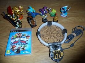 PS3 Playstation 3 Game - Skylanders Trap Team with accessories