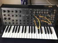 Korg MS 20 vintage Synth with original manual