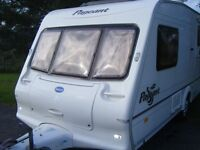 Bailey Pageant Monarch 2 Berth Caravan.