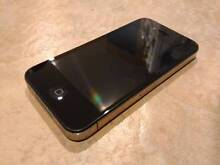 Apple iPhone 4 16GB Black - Good Condition, Unlocked Browns Plains Logan Area Preview
