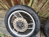 yamaha xj 600 back wheel