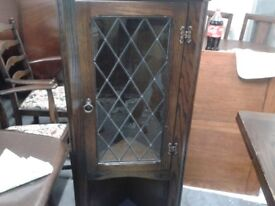 Luxury display cabinet and cabinet,Jaycee,solid oak,glass, hand carved piece