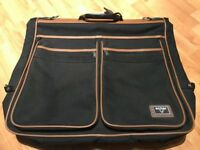 ANTLER SUIT GARMENT CARRIER SUITCASE BLACK & TAN TRAVEL