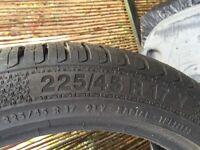 Brand new Barum car tyre 225/45 R 17 Y