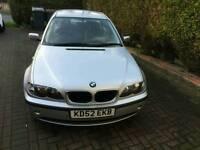 BMW 318i 2.0ltr 2002 auto saloon 64k miles