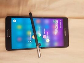Samsung Note 4 32GB Unlock mint conditon Bargain £180