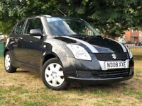 2008 SUZUKI SWIFT 1.3 PETROL MANUAL **59000 ONLY ** 3 MONTHS WARRANTY **