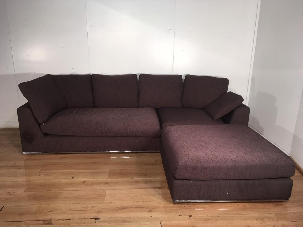 Dwell Brown Modular Corner Sofa With Free Delivery Within 10 Miles