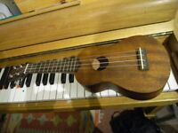 Ukulele, hand crafted quality build, as new, unwanted gift, 54 cm long, £40