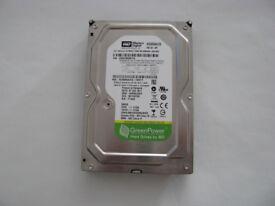 """WD Green 500GB Hard Drive 3.5"""""""