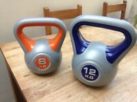 2 Kettle bells for sale 8kg and 12kg BRAND NEW