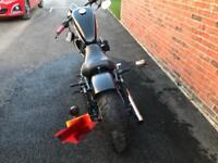 Harley Davidson 883r custom bobber