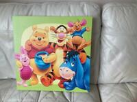 Pooh Bear Canvas
