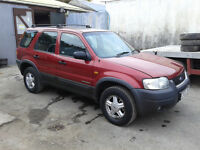 Ford, maverick, 2.0ltr petrol, Zteck engin, Spare or repair BRAKING, PARTS,