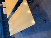 Oak Meeting Room Tables / Desks