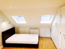 en-suit double room and loft dormer to rent near grant hill station