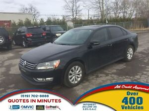 2012 Volkswagen Passat TRENDLINE + | HEATED SEATS | ALLOYS | MUS