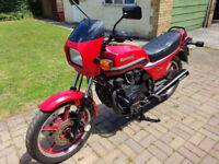 Kawasaki Z550-H2 1984 motorcycle 6242 miles