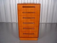 G-Plan Fresco Six Drawer Chest In Teak, 1960's