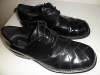 Men's Ikon Zodiak Black Leather Northen Soul shoes