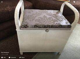 Loom storage stool