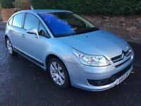 CITROEN C4 1.6 ** ONLY 20,000 MILES FROM NEW ** 54 PLATE **ONE OWNER **