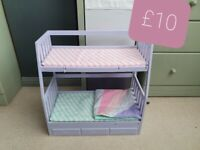 Our Generation Dolls Bunk Bed