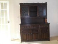 Stanley Wood sideboard with detachable Welsh dresser top