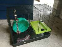 Bird cage / hamster cage 47H x 55W x 28D cm