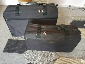 Two big suitcases
